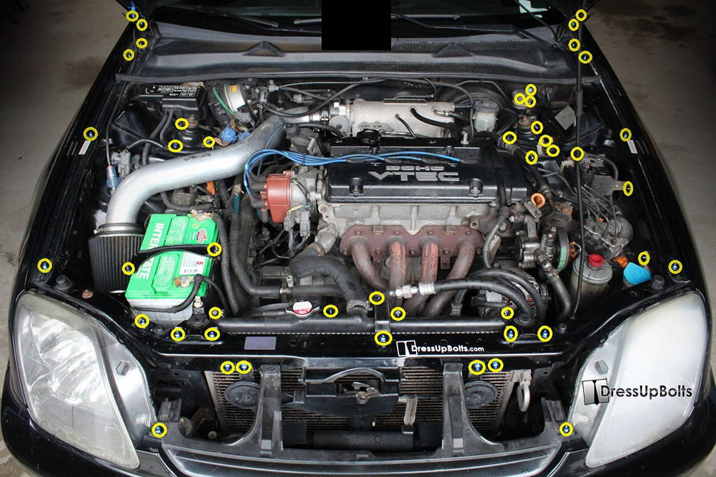 All Of Our Engine Bay Kits Come With Detailed Installation Instructions