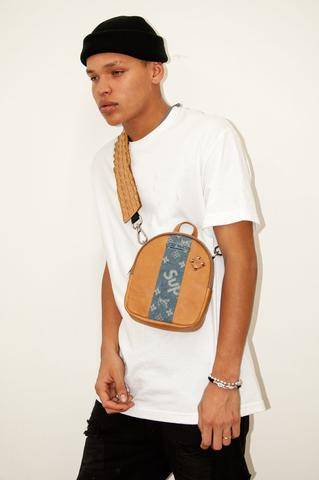 custom backpack, custom cross body bag, luxury custom bag, srbp, sr backpacks, sr id, customize sr backpack, bespoke backpack, luxury backpacks, snakeskin backpack, custom exotic bags, handcrafted backpacks, fanny pack, why don't we, backpack, mini bag, milk and poster, poster boy