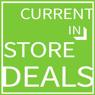 Current in-store deals page