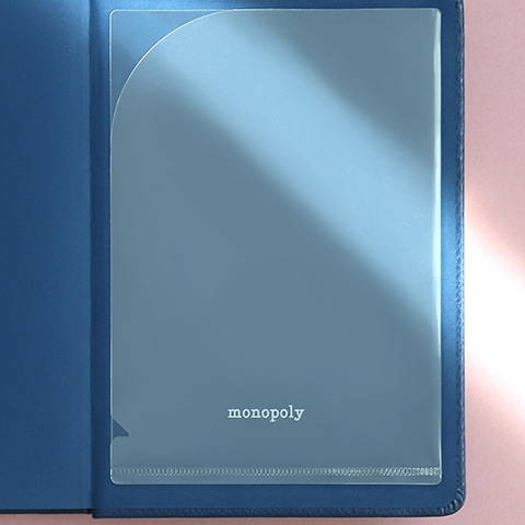 Comes with pocket sticker - Monopoly 2020 Appointment small dated monthly planner