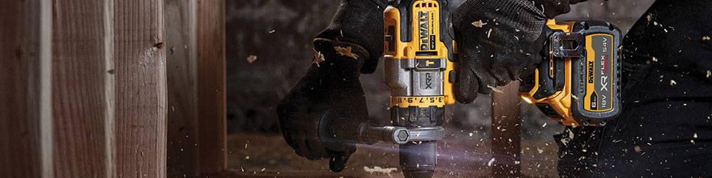 Dewalt Introduces the Brand New DCD999 Combi Drill with FlexVolt Advantage