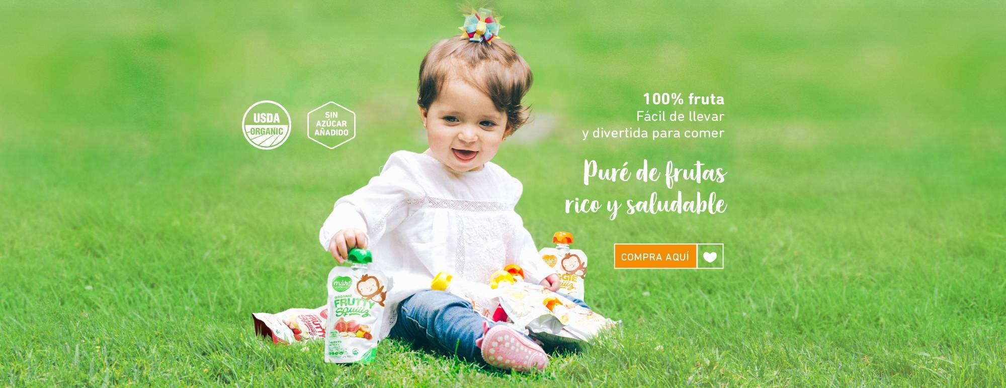 compotas organicas para bebes y ninos