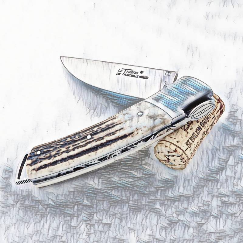 12 cm handle Le Thiers Gentleman knife
