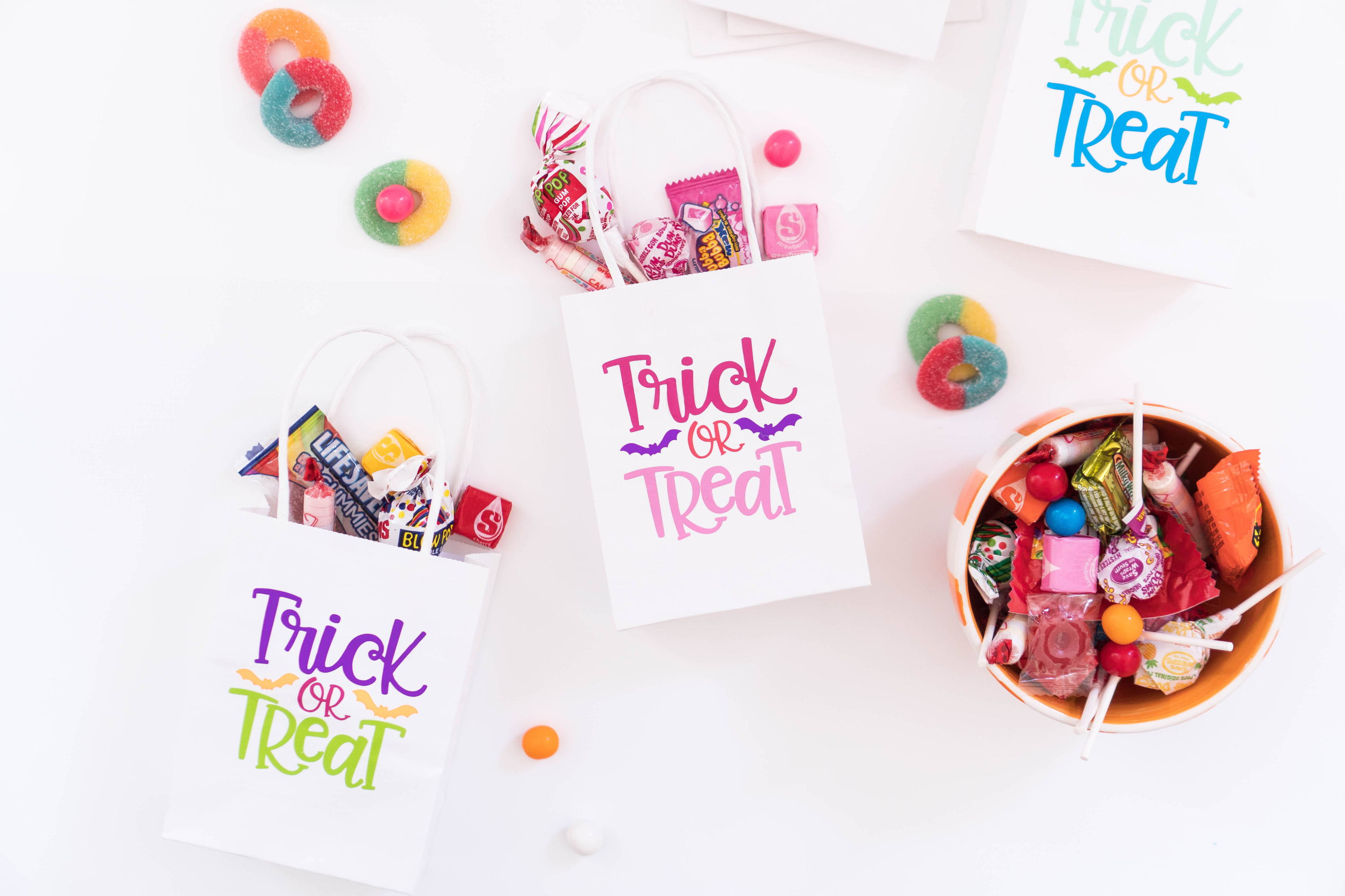 Craftables trick or treat paper bags