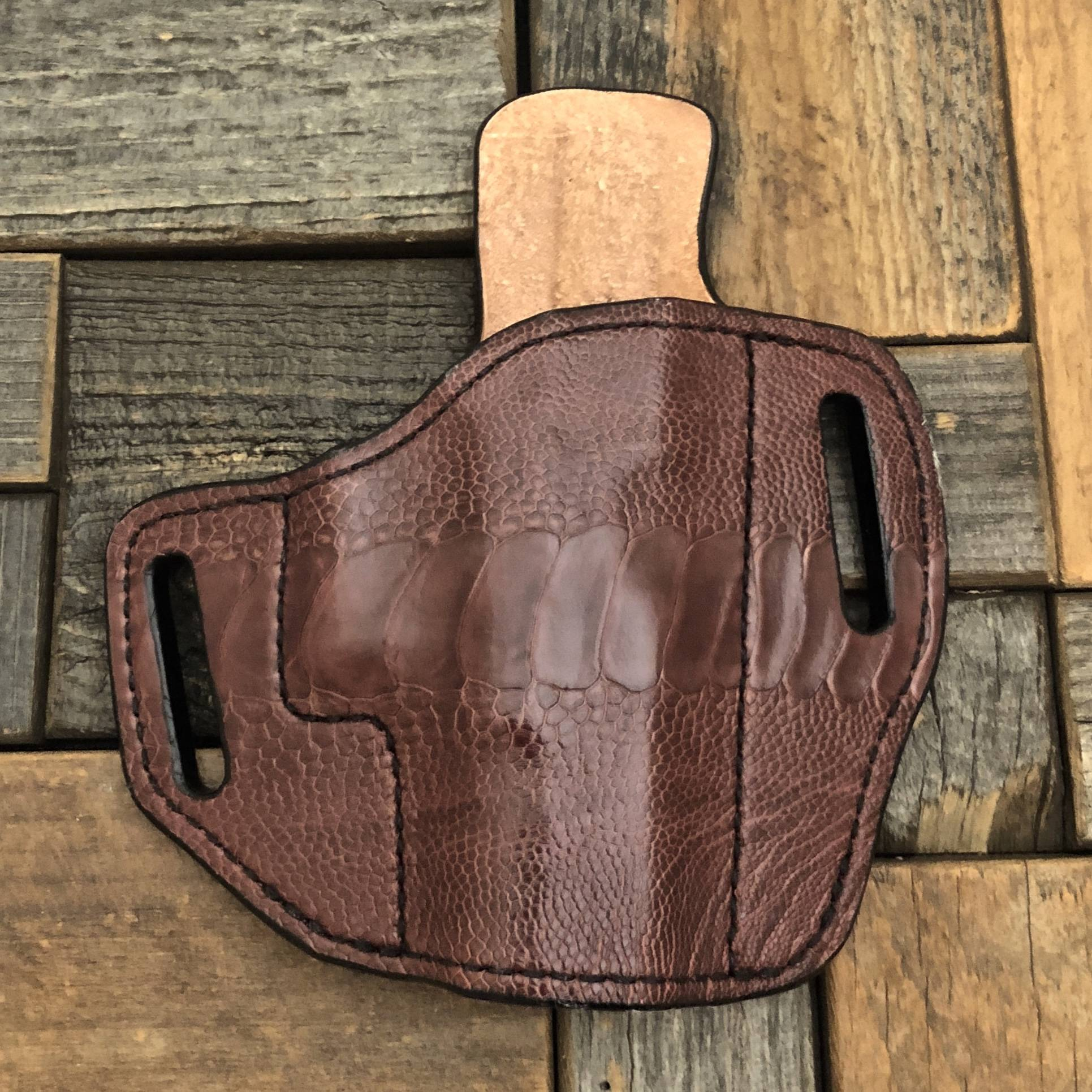 Custom Leather Handgun Holsters