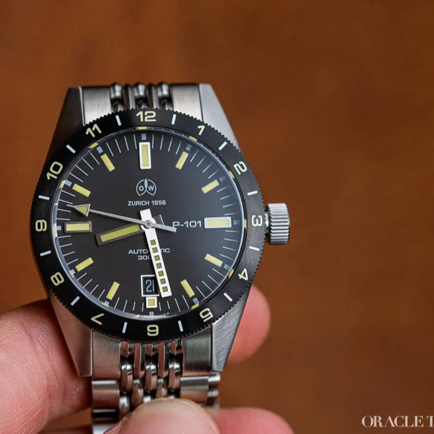 Oracle Time Ollech & Wajs P-101 S Watch Review