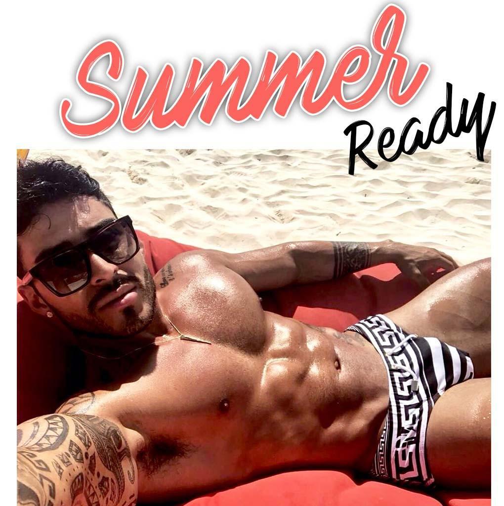 Danny Miami beach dkini summer ready