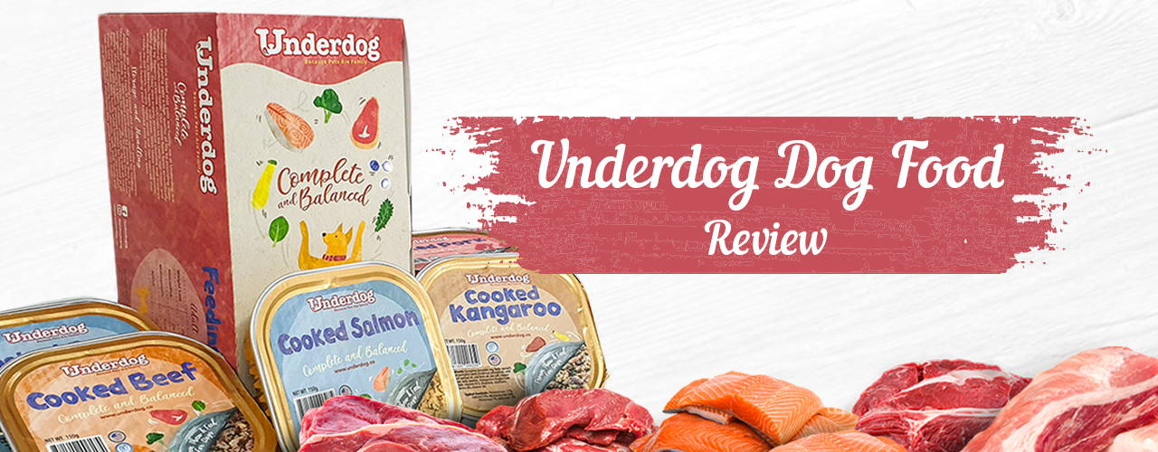 underdog dog food review