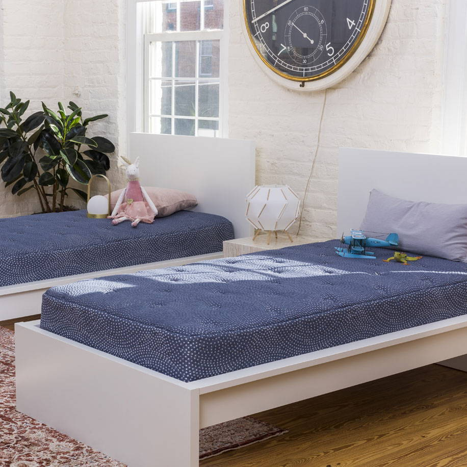 mattress for children. A bed made just for kids.