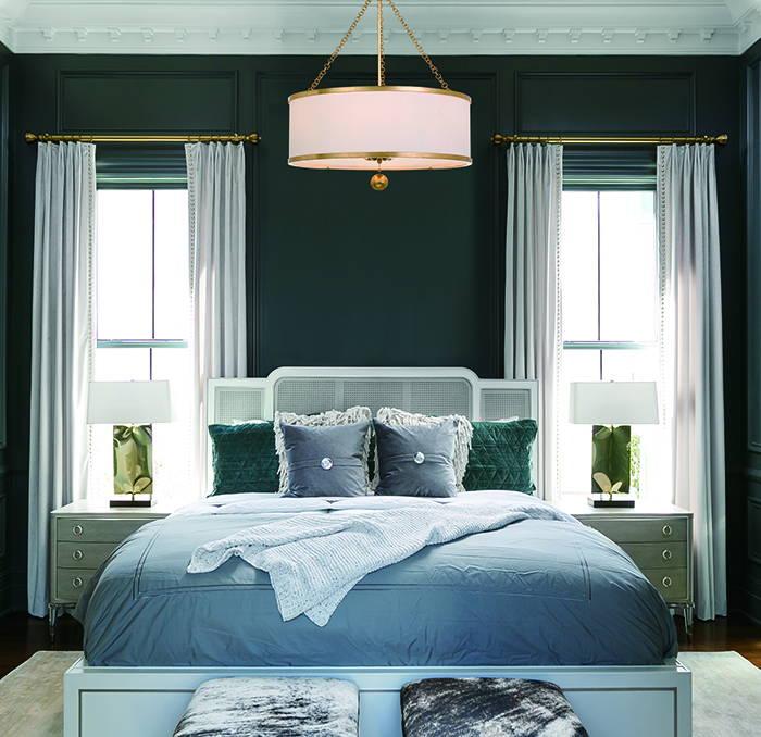 Crsytorama bedroom libby langdon pendant #518-GA