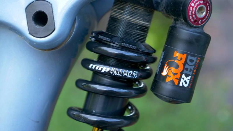 MRP progressive coil spring sls fox dhx2 kona process shock