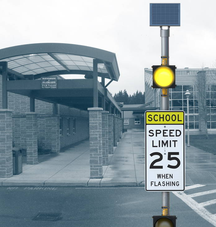 School Zone Blinkerbeacon