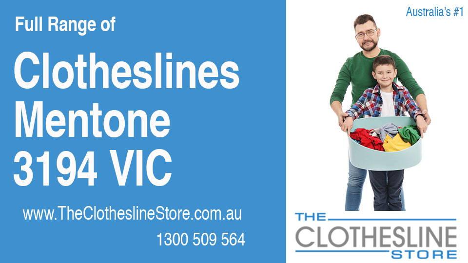 New Clotheslines in Mentone Victoria 3194