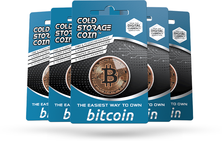 Bitcoin Cold Storage Coin Wallet 1 Troy Ounce  999 Fine