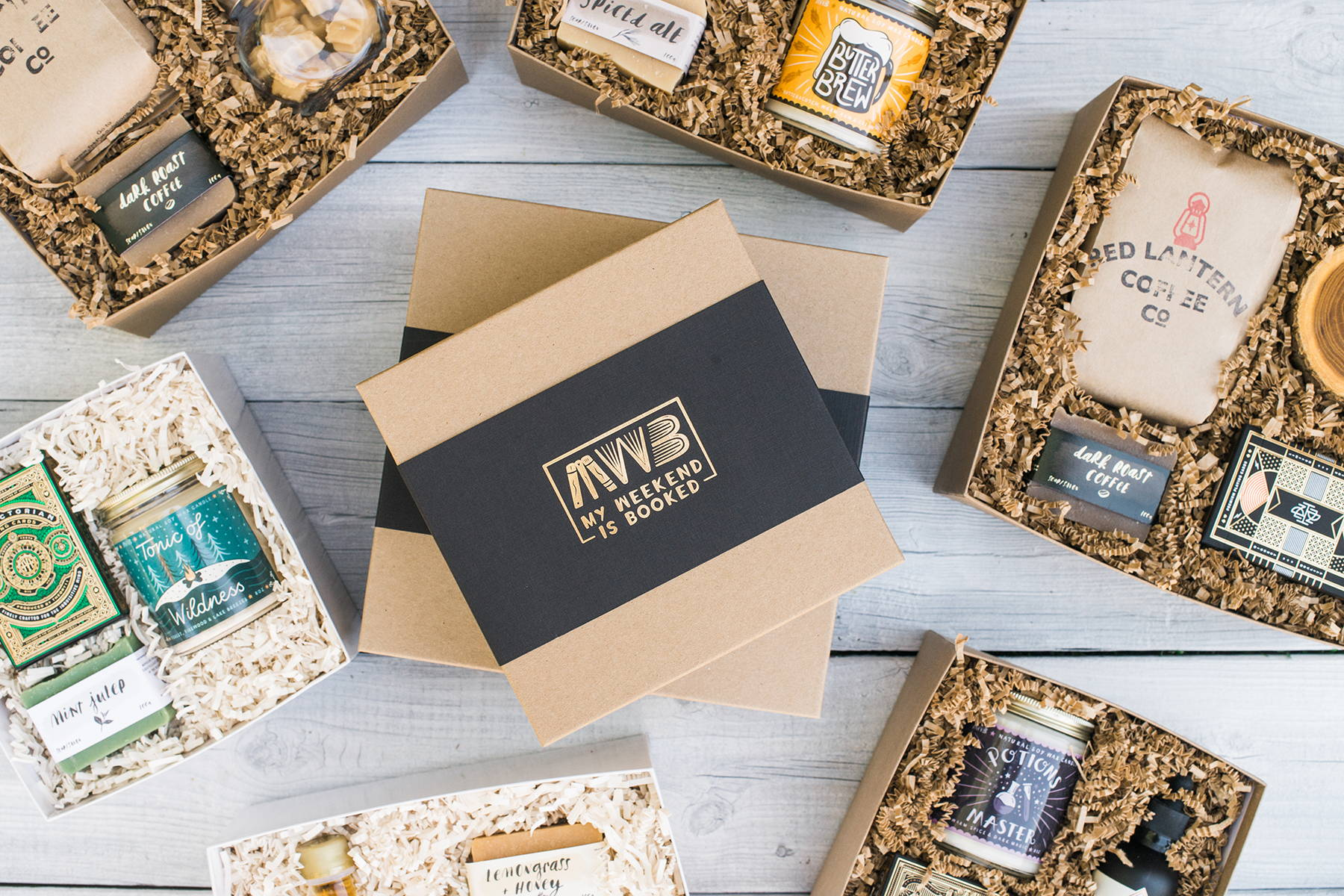 corporate gift ideas my weekend is booked gift box company canada