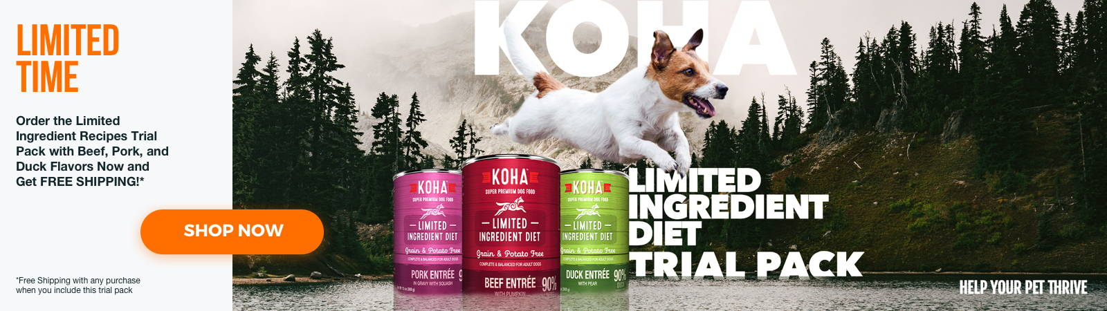 Limited Ingredient Diet Wet Dog Food Trial Pack