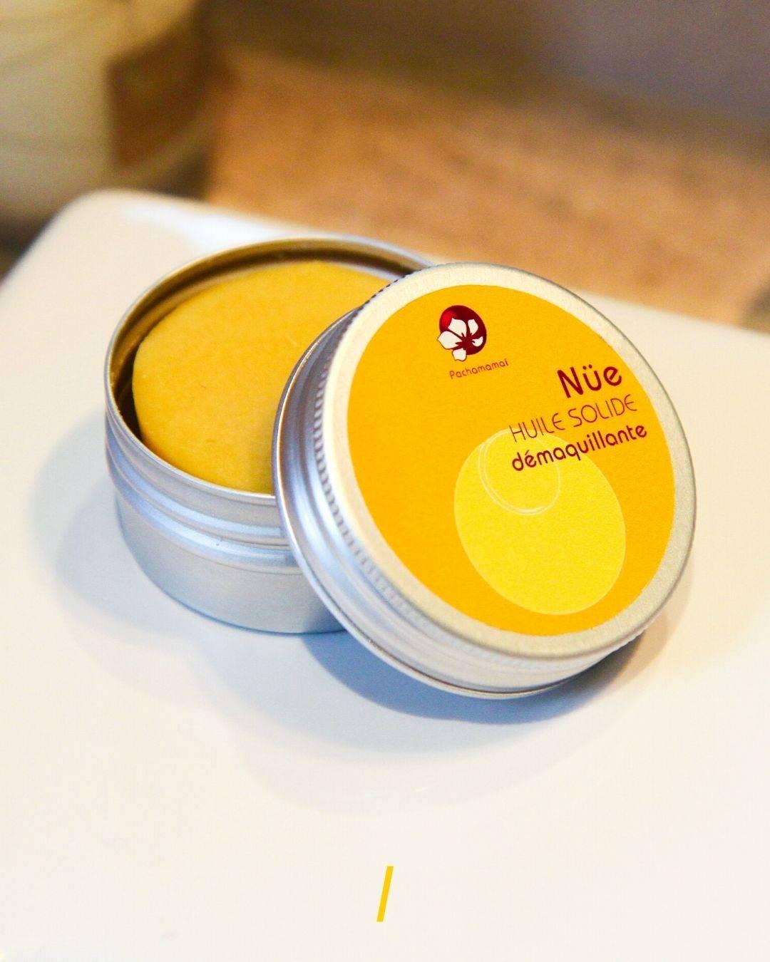 L'huile demaquillante solide - Nue - Pachamamai