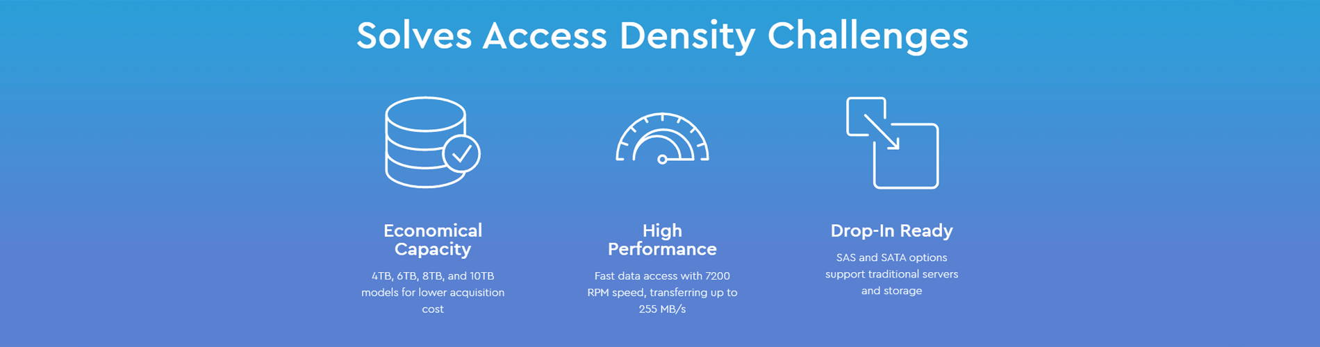 Solves Access Density Challenges