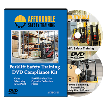 Forklift Operator Training Video Compliance Kit