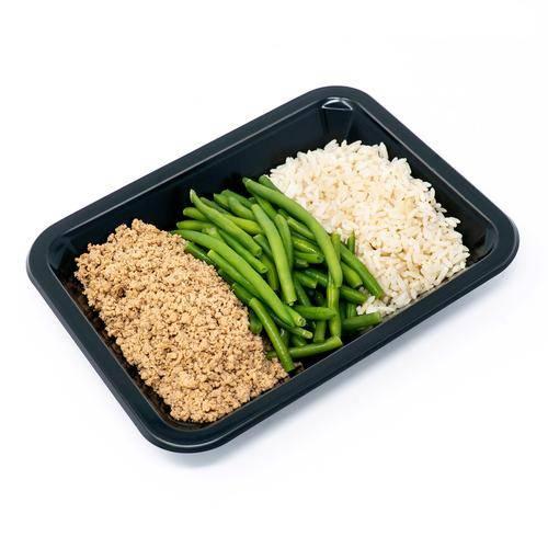 Ground Turkey, Rice, & Green Beans