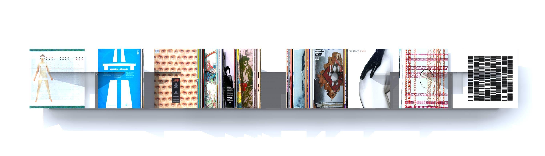 etagere vinyle ryoji ikeda