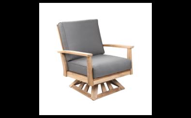 POVL Outdoor Calera Swivel  Rocker Lounge Chair