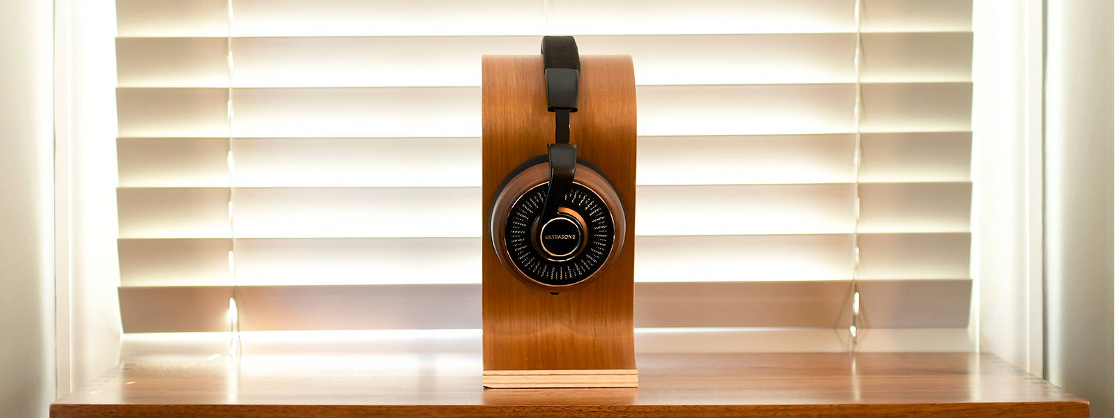U;trasone Edition 11 Headphones on stand