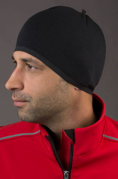 merino wool skull cap model font
