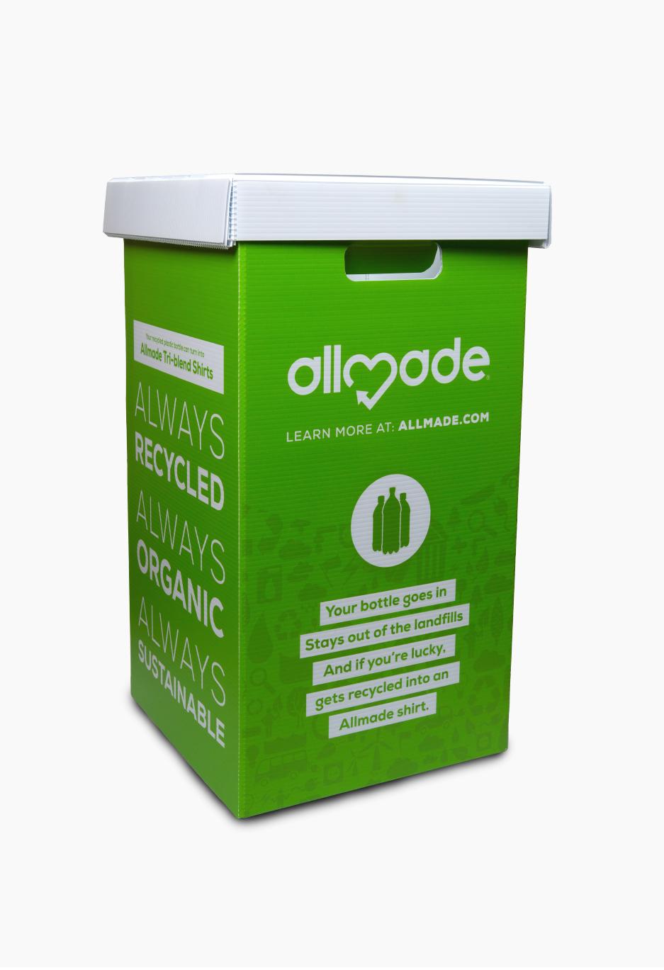 Allmade Recycled Bin
