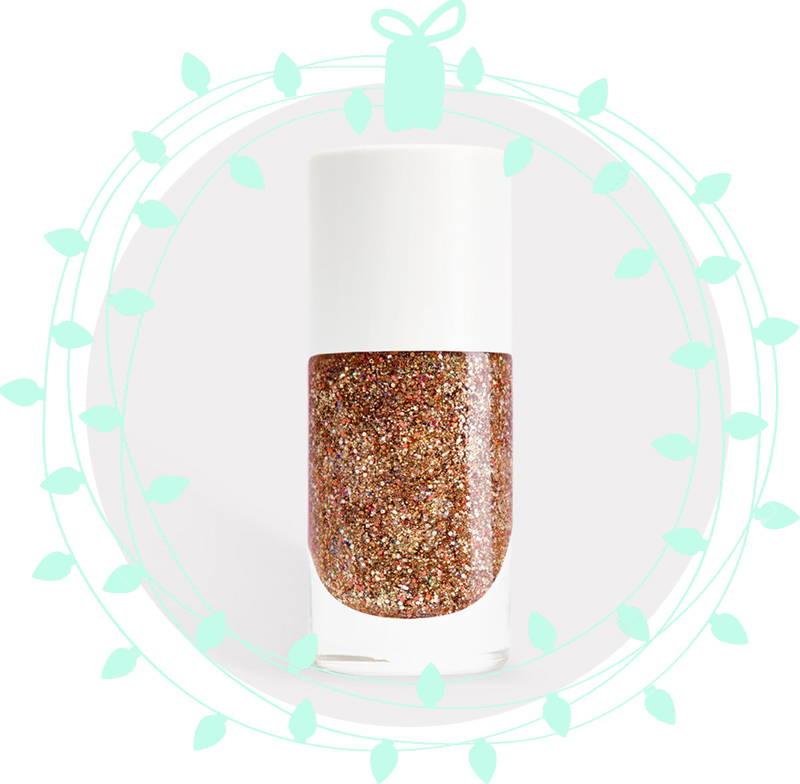 Nailmatic Nail Polish in Stella (sparkling copper)