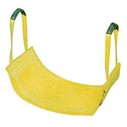 Nylon Lifting Sling - Type 9 Attached Eye Wide Lift Strap