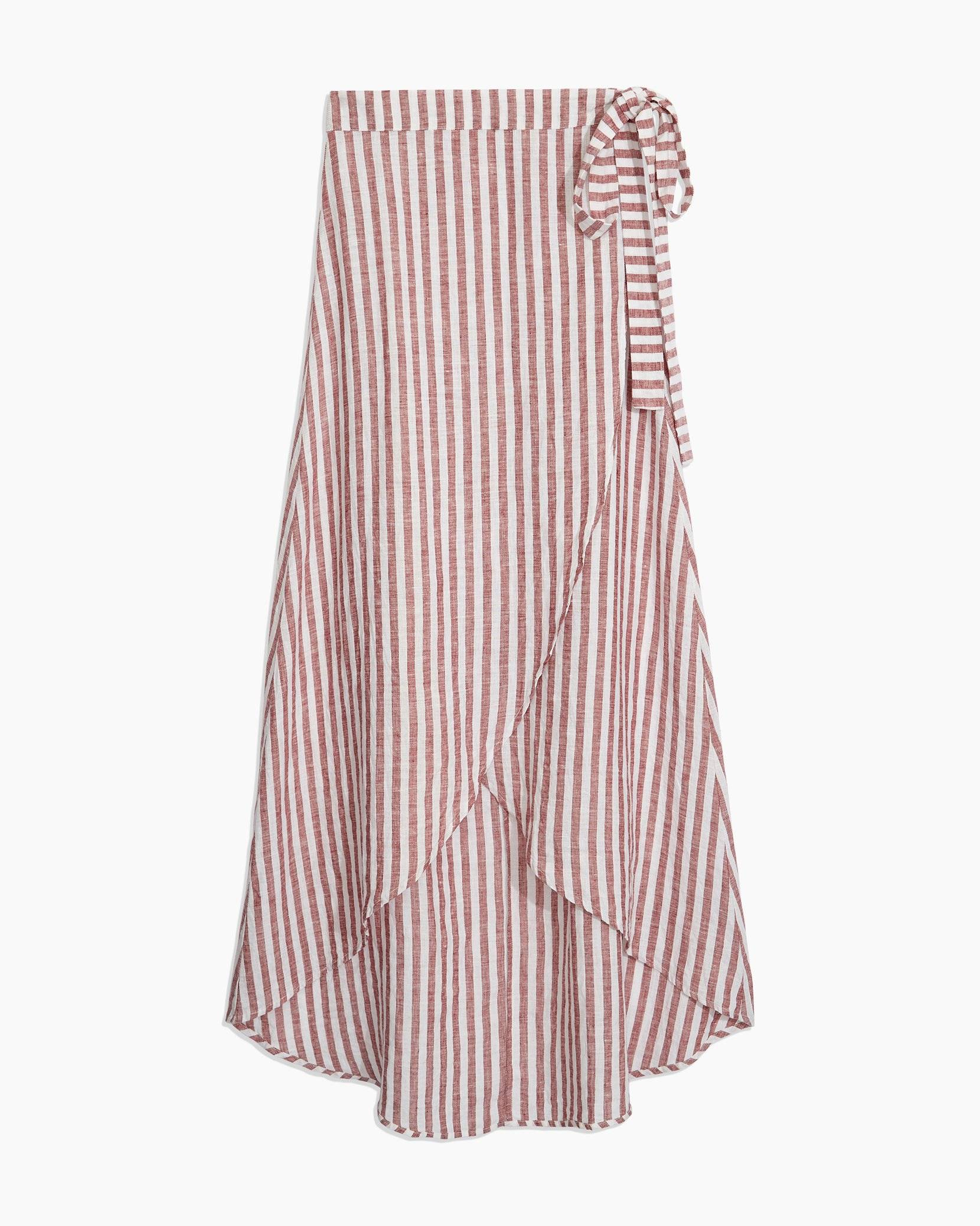 Amanda Macro Stripe Skirt