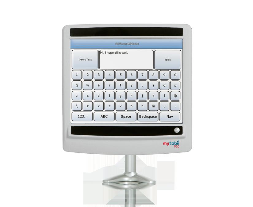 MyTobii P10 device