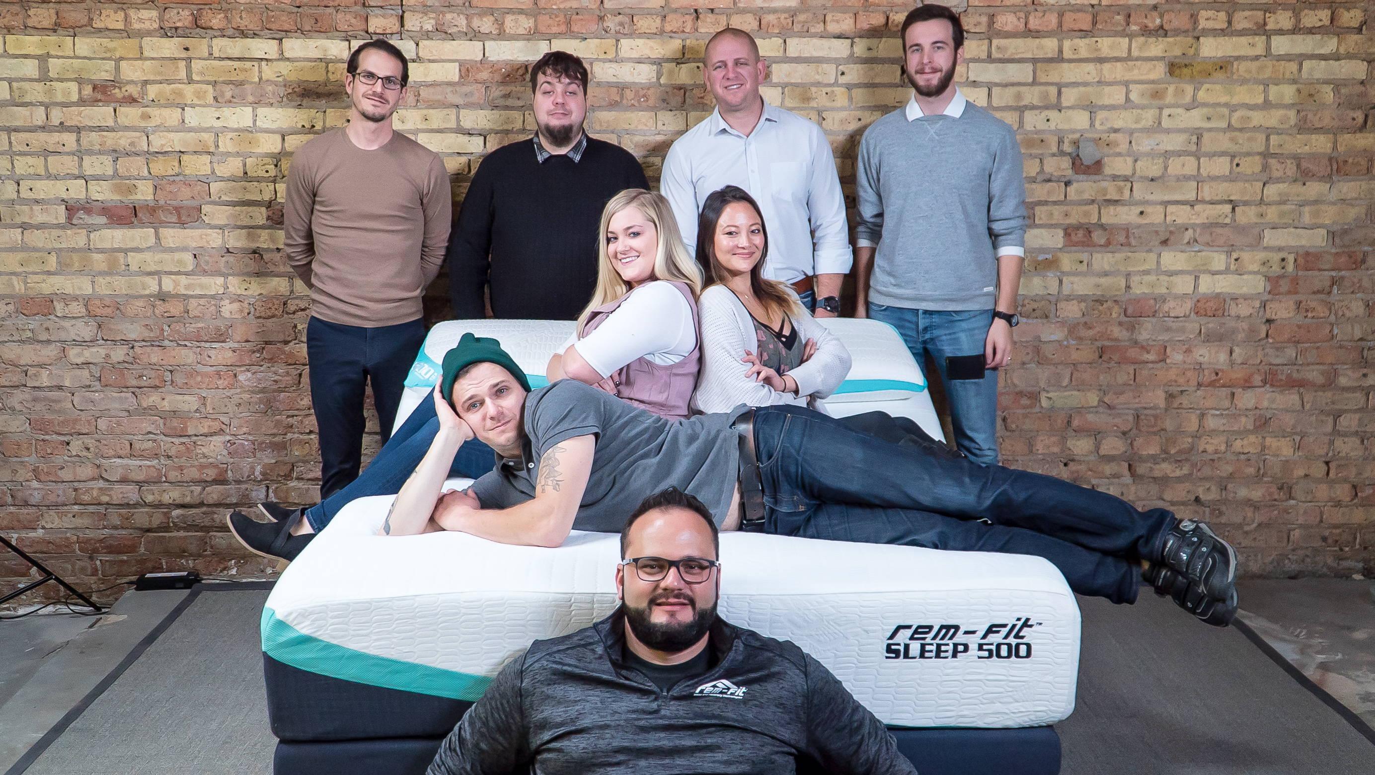 photo of rem-fit team