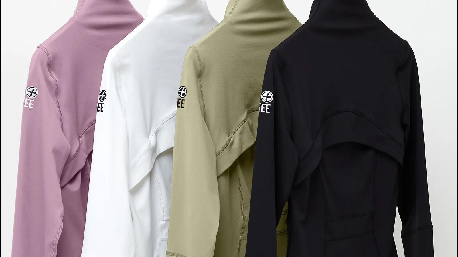 Women's Upside Zip Active Wear Jackets