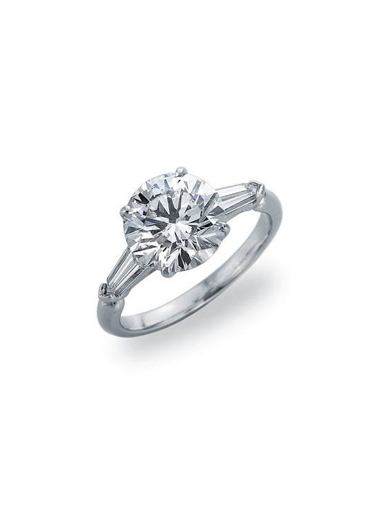 image of chicago simple engagement ring