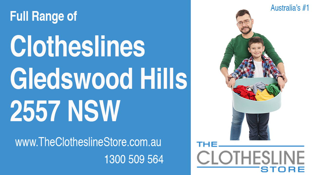 New Clotheslines in Gledswood Hills 2557 NSW