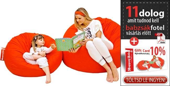 11 dolog, amit tudnod kell babzsákfotel vásárlás előtt! Plusz KUPON! - HuppanjBele.hu