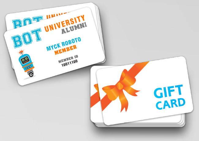 Shop Plastic Cards