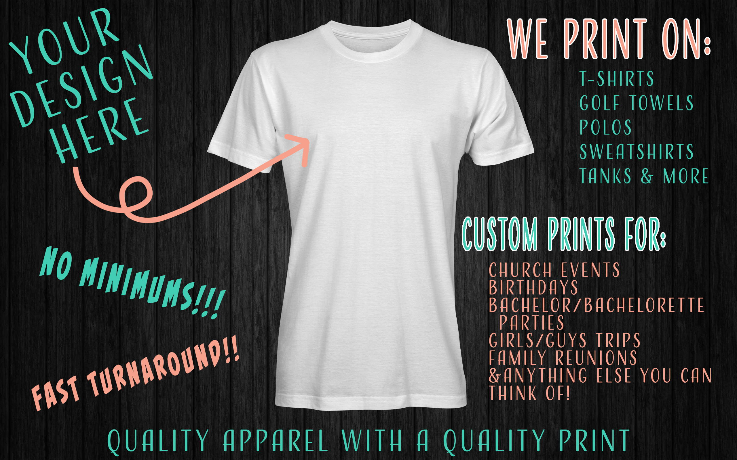 DIY Custom T-shirts apparel