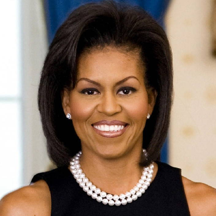 Michelle Obama and Pearls