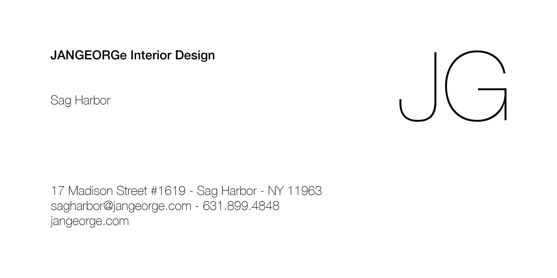 JANGEORGe Interior Design Sag Harbor, 17 Madison Street #1619, Sag Harbor, NY 11963, 631.899.4848, sagharbor@jangeorge.com