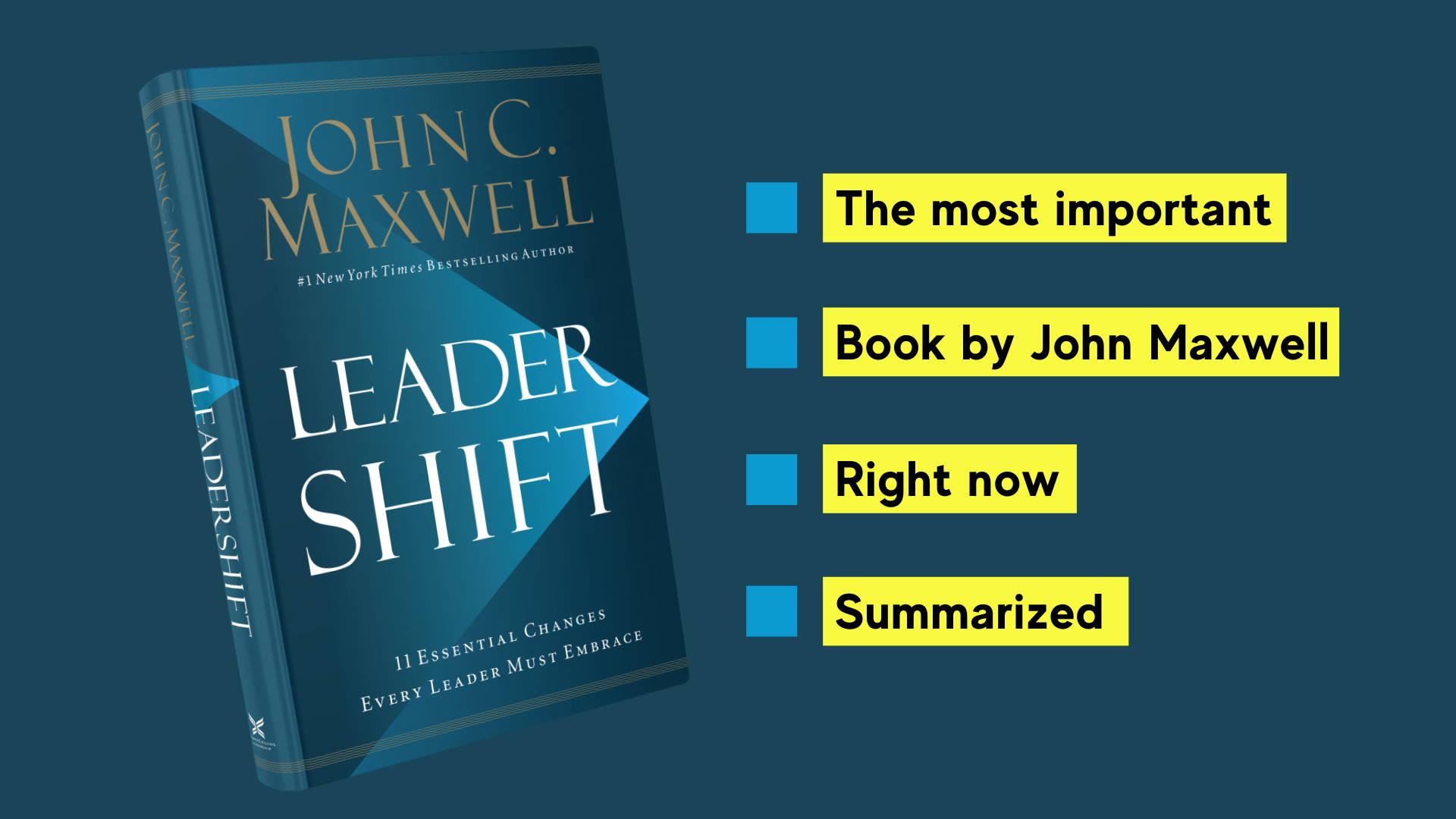 leadershift by john maxwell book summary