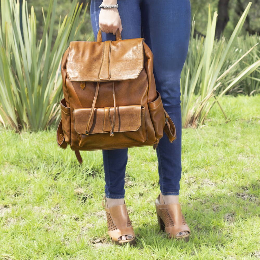Ellington Leather Backpack
