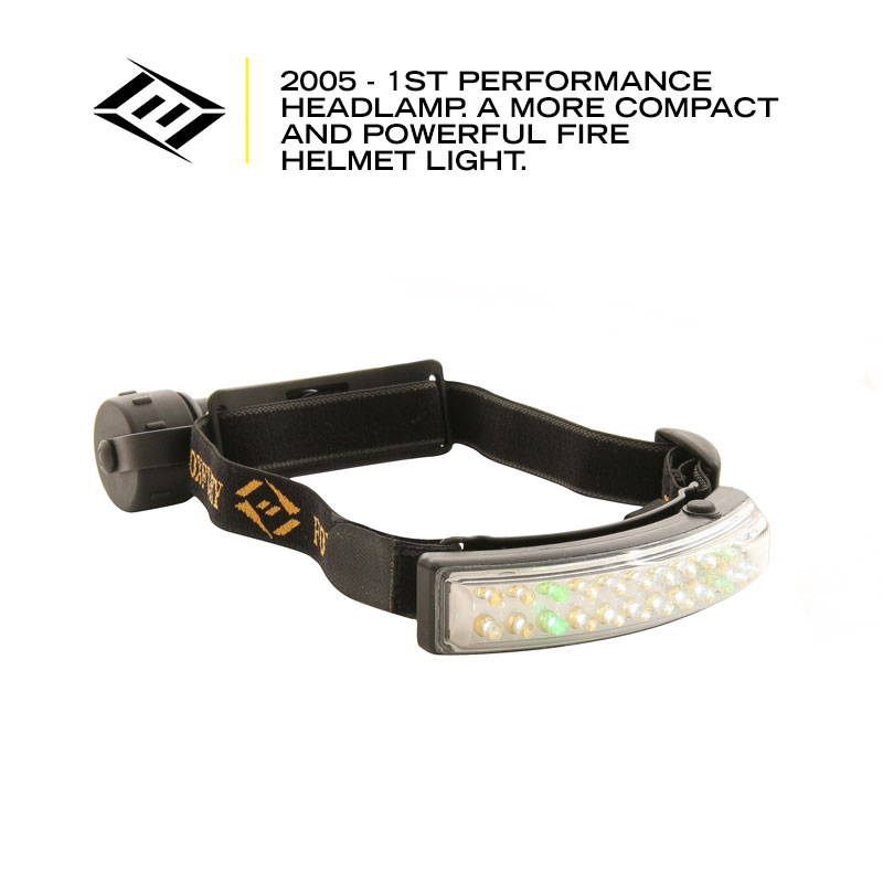 First FoxFury Performance Headlamp is made