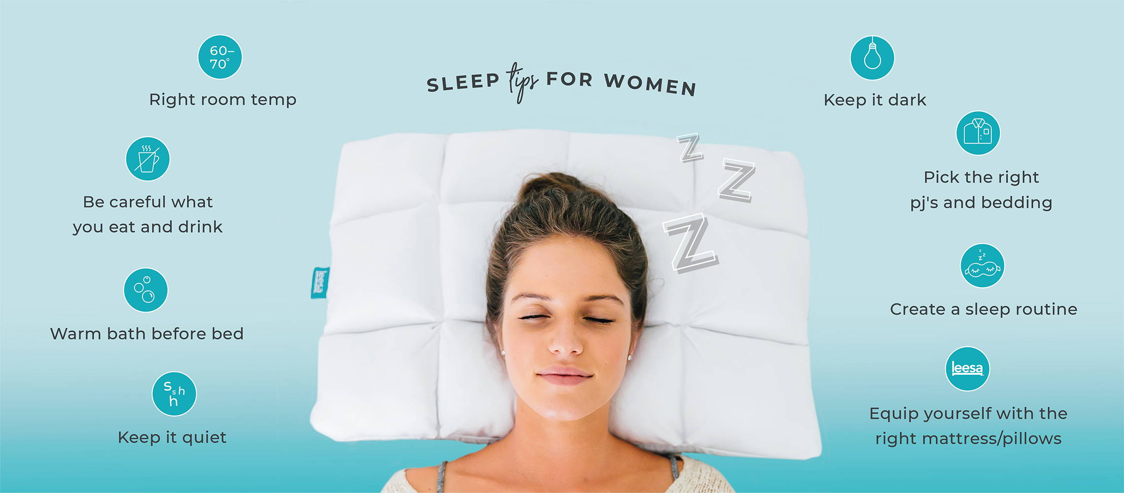 Sleep tips for women