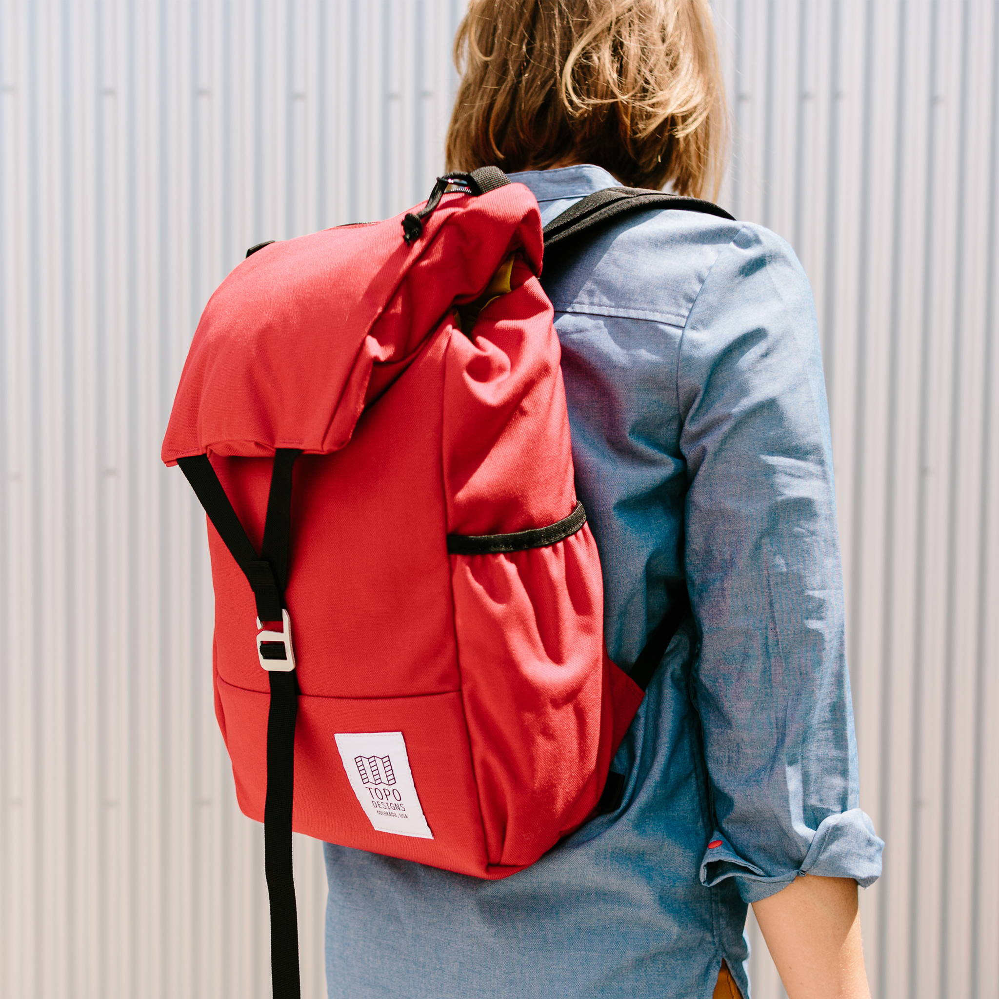 7afa109a9 With a wide flap and single latch closure, the Y-Pack fuses classic style  and modern functionality.