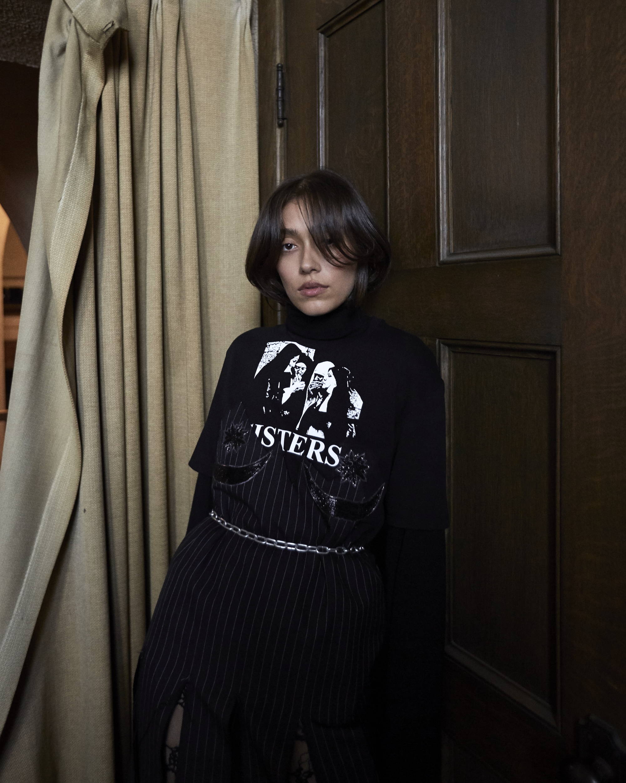 Dilara Findikoglu F/W18 Women Spliced Dress - Hlorenzo