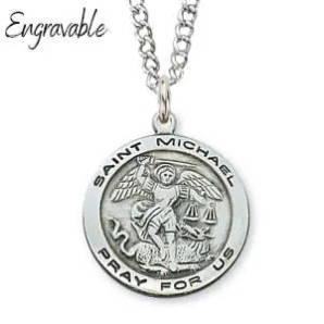 St. Michael Personalized Pendant