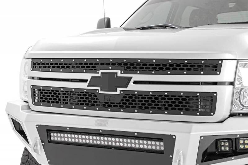 Chevy Silver Grille